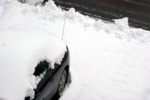 Car Snowed In